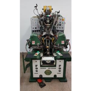 Máquina MONTAR TALONES Y ENFRANQUES CON COLA termoplástica marca ORMAC modelo 795 CHS.